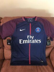 new style 45ffc c4116 La foto se está cargando Nike-Paris-Saint-Germain-de-Francia-Camiseta-de-