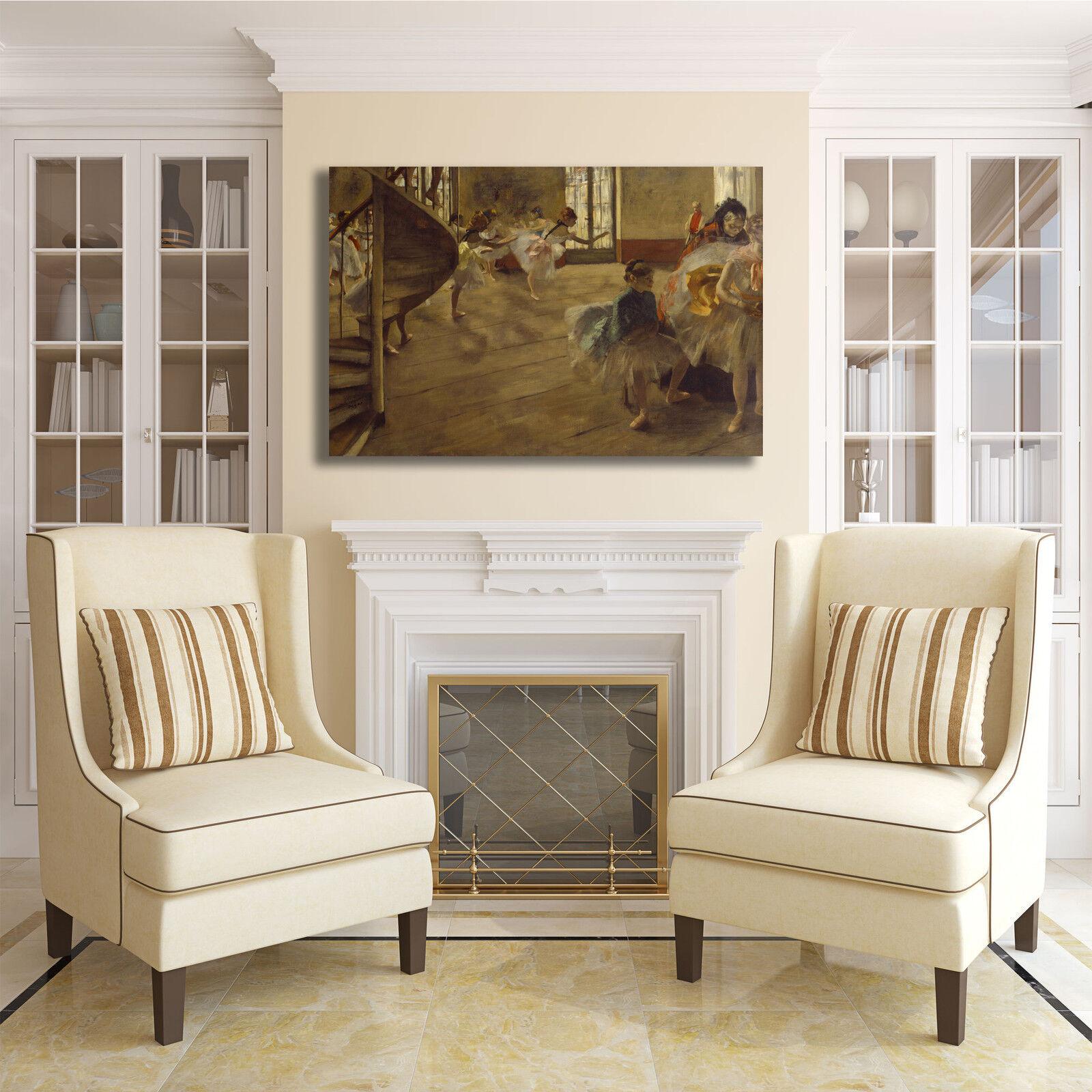 Degas ballerine design telaio quadro stampa tela dipinto telaio design arRouge o casa 7b3e41