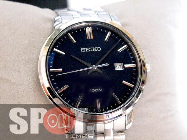 best website fc445 77606 Seiko Analog Casual Quartz Silver Mens Watch Sur107p1