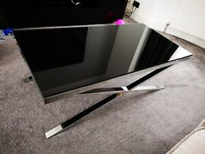 Details About Furniture Village Coffee Table Black Glass