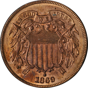 1869-Two-2-Cent-Piece-Choice-BU-Details-Nice-Eye-Appeal-Strong-Strike