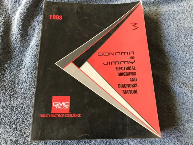 1993 Gmc Sonoma Jimmy Factory Electrical Diagrams And