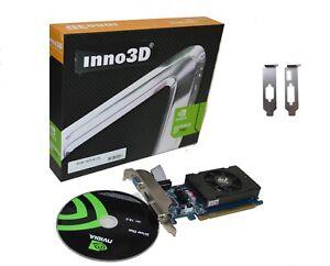 Inno 3D GeForce 7 2 Go PCI Express DDR3 x16 Carte Graphique Vidéo Windows 8/7/10 Low