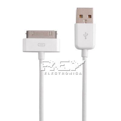 Cable De 30 Clavijas A Usb Para Iphone 3g Y 3gs Carga Y Sincronización I190 Ultimi Design Diversificati