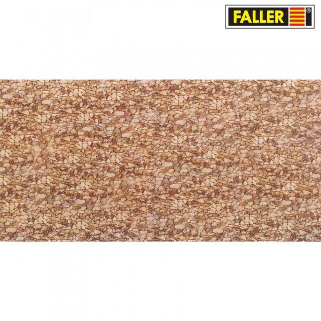 Faller 222559 250 X 125 mm Mauerplatte Tunnel Neu