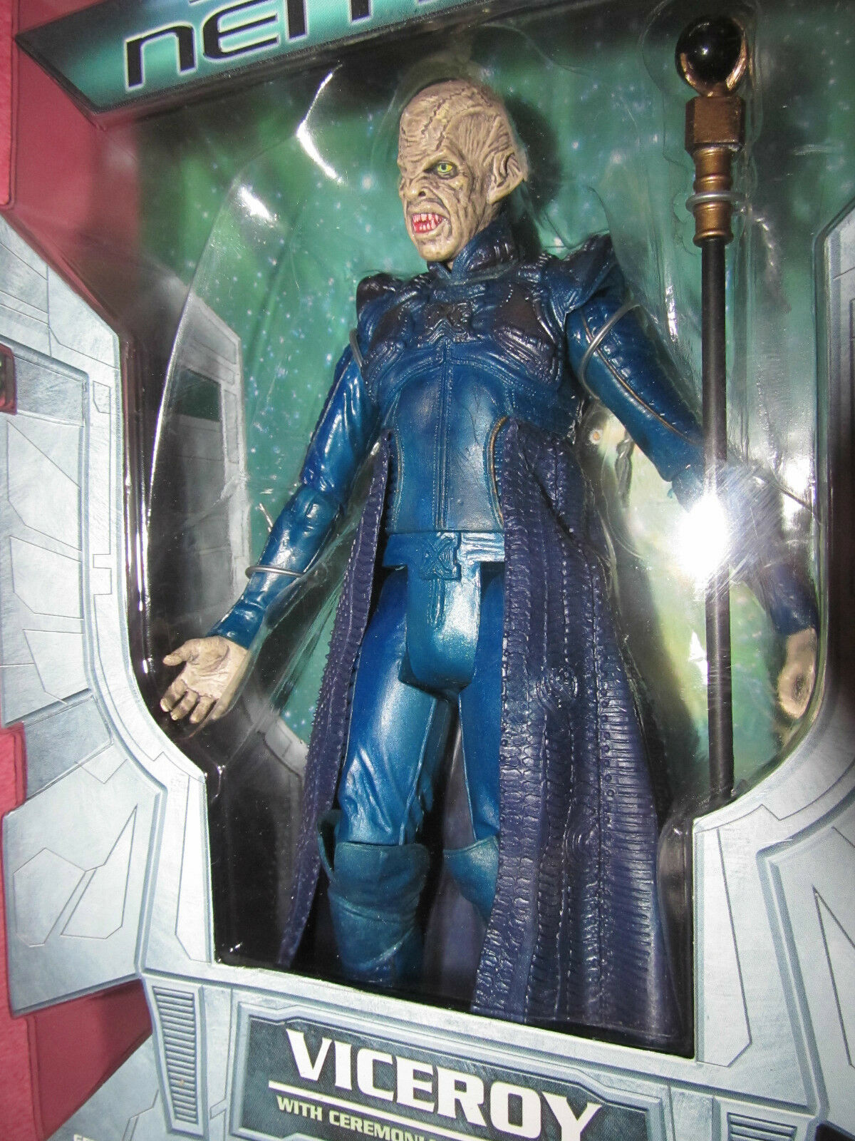 Star Trek Nemesis set of 4 -PICARD, DATA, VICEROY, VICEROY, VICEROY, SHINZON by Art Asylum  2002 94d113
