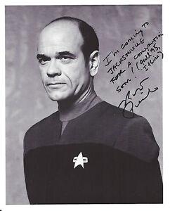 Star Trek Voyager Autograph 8x10 Robert Picardo/The Doctor ...