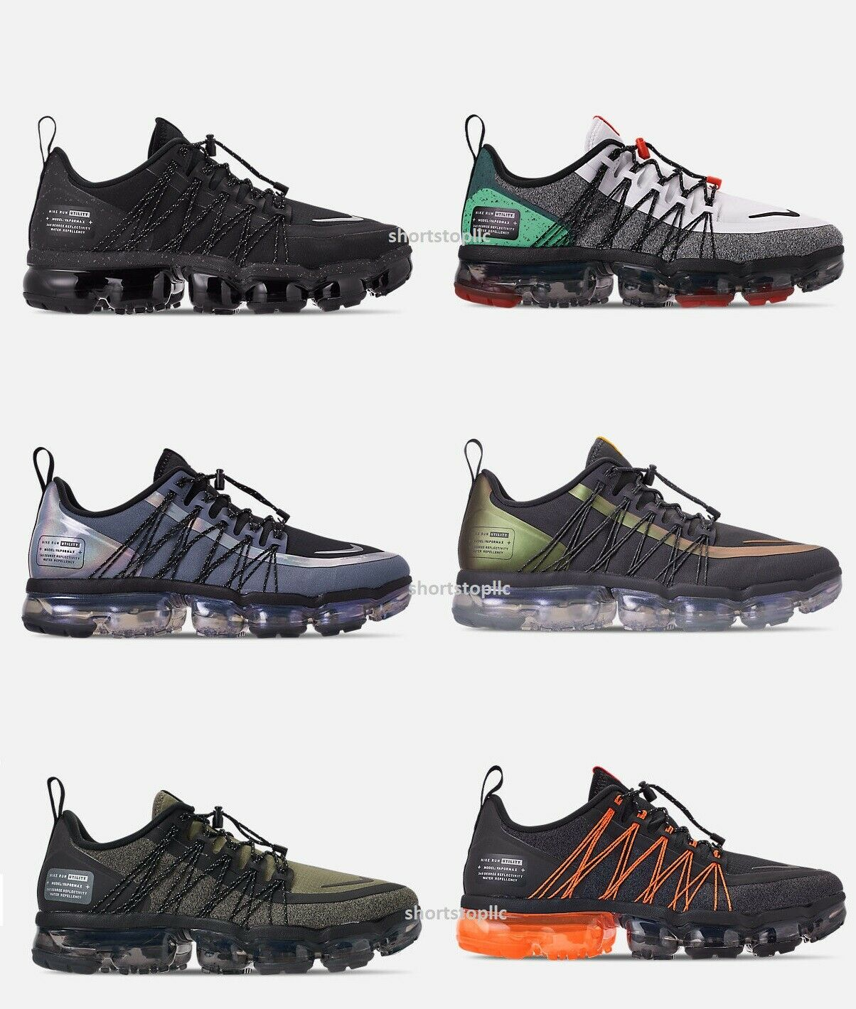 NEW Nike Air VaporMax Run Utility Silver Men's Running shoes Sneakers ALL STYLES