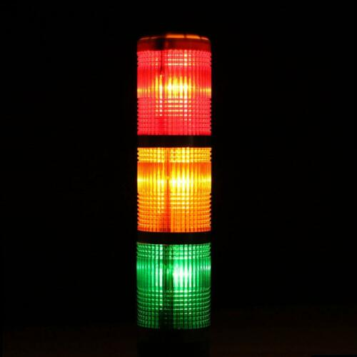 Alarm LED Blitzlicht Warnlicht Rot Orange Signal 12 24 110 220V Signalleuchte