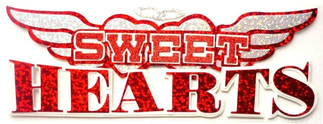 Jolees Boutique Sweethearts Title Dimensional Scrapbook Stickers 50