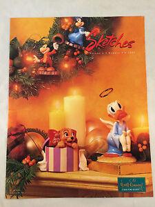WDCC Disney Sketches Magazine 1998 Vol 6 No 4