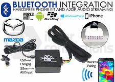 Mazda Bluetooth streaming handsfree calls adapter CTAMZBT001 AUX iPhone Samsung