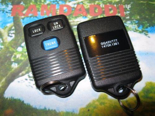 OEM 97 98 99 GQ43VT7T Toyota Camry Sienna Remote Transmitter Key Fob w// TRUNK