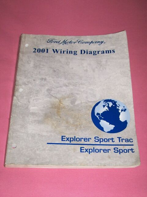 2001 Explorer Sport Track    Explorer Sport Ford Factory Wiring Diagrams Manual