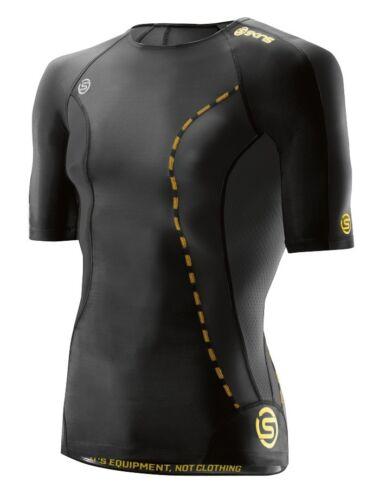Skins Mens DNAmic Compression Short Sleeve Top Baselayer