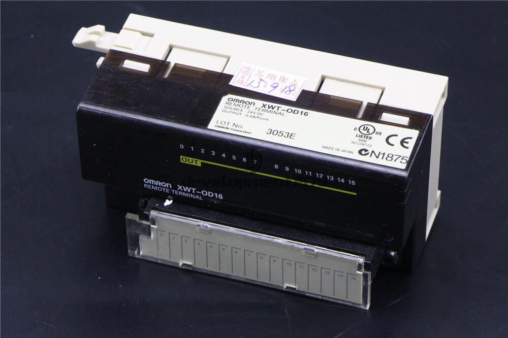 Used OMRON REMOTE TERMINAL XWT-OD16
