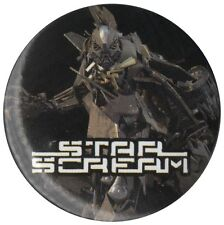 Transfomers3 Star Scream 1.5 inch 38mm Pin Badge