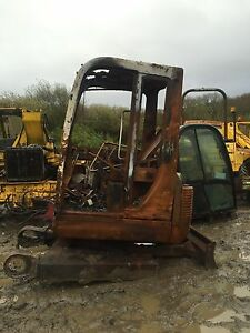 Dismantling Takeuchi Tb125 Mini Digger Excavator Slew