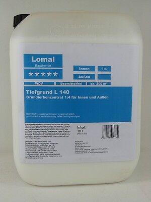 (1,90€/1l) Lomal L 140 Tiefgrund 20 l Konzentrat 1:4 Profiware Tiefengrund