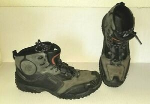 Super-Hiking-Boots-ALLROUNDER-by-MEPHISTO-Size-9-M-Lace-Up-Black-Gray