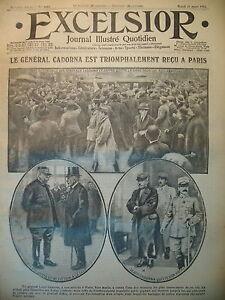 WW1-N-1953-Gal-CADORNA-A-PARIS-ALLEMANDS-1-DESSIN-DE-ZISLIN-EXCELSIOR-1916