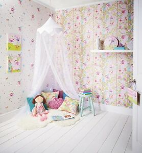 Image Is Loading Woodland Fairies Fairy Room Concept Girls Bedroom  Wallpaper