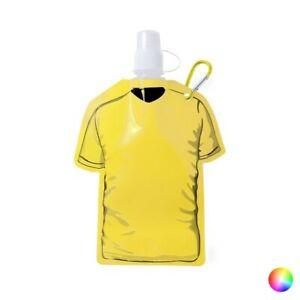 Gourde de Sport flexible (470 ml) - Bouteille avec accroche Couleur - Jaune