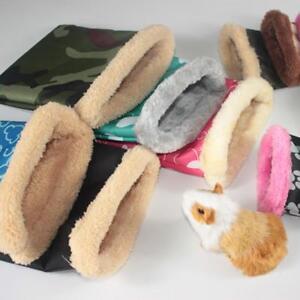 Pet-Hamster-Ferret-Rat-Squirrel-Hammock-Plush-Bag-Nest-Bed-House-Toy