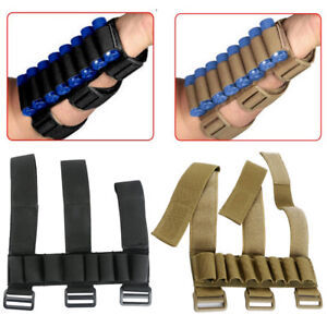 Shotgun Shell Ammo Bandolier Bandoleer W// Safety Lock Holds 50 Shot Shells