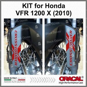 2pcs-ADESIVI-Rosso-compatibile-VRF-1200-X-HONDA-2010-CROSSTOURER-X-PARASPRUZZI