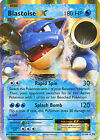 Blastoise EX Ultra Rare Holo Pokemon Card XY12 Evolutions 21/108