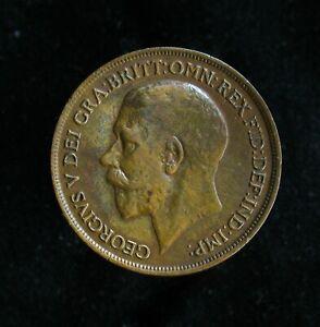 1919-Great-Britain-Penny-KM-810-better-grade