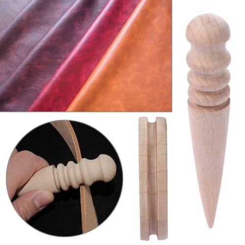 Outil en Cuir Coupe-bordures Polissage Fraise Taille Barres Rondes en Cuir Artisanat outil