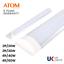 ATOM-LED-Batten-Tube-Light-Slim-Ceiling-Fitting-2ft-20W-30W-Cool-White thumbnail 2