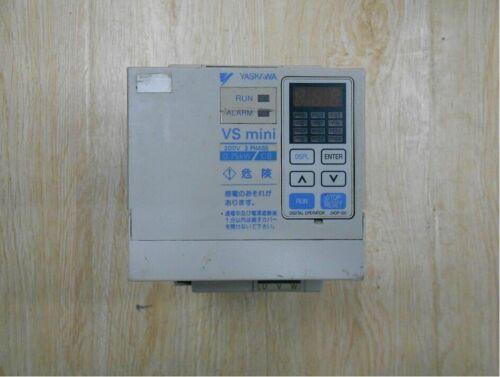 Used YASKAWA Inverter CIMR-XCBA20P7 0.75KW 220V Tested