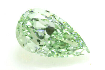 Rare Green Diamond - 0.62ct Natural Loose Fancy Green Color GIA VS1 Pear Shape  | eBay