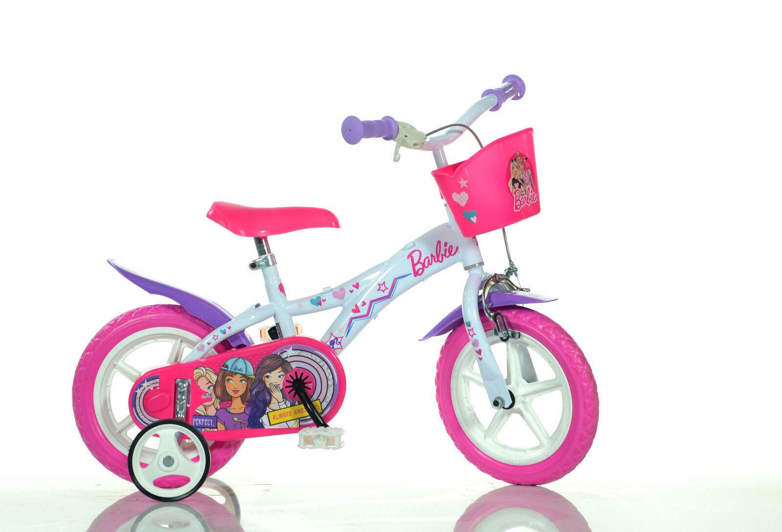 12 Zoll Barbie Kinderfahrrad Fahrrad Spielrad Rad Bike DINO-BIKE