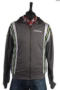 Chaqueta-Retro-Vintage-90s-Adidas-Casuals-Chandal-Top-Gris-pecho-52-034-SW1371