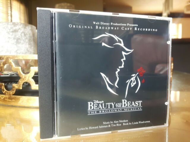 Beauty and the Beast [Original Broadway Cast Recording]. 1994. USA. 60861-7. NM