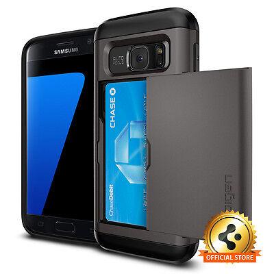 Spigen® Samsung Galaxy S7 [Slim Armor CS] Card Slot Cover Slim Wallet Case