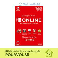 Nintendo Switch Online Abonnement Clé - 12 mois - 365 jours eShop [NEUF] [FR/EU]