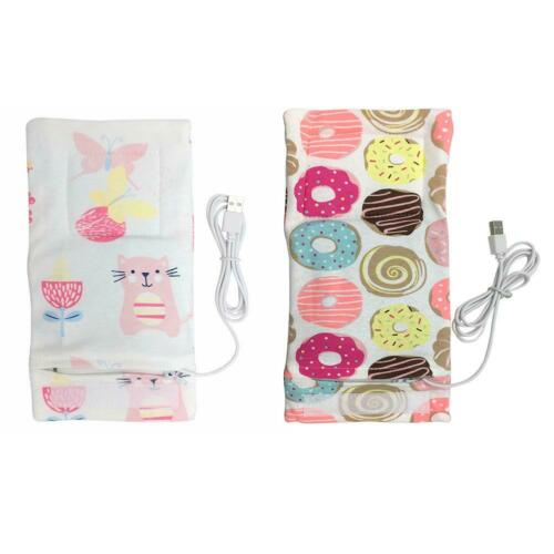 USB Baby Bottle Warmer Portable Outdoor Infant Milk Feeding Insulated Bag FG#1
