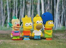 Simpsons Family Bart Marge Homer Tortenfiguren Kuchendekoration Dekor Figur Set4