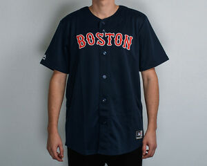 huge selection of 6a30c 28b25 Majestic MLB Boston Red Sox Replica Jersey NEW MBX2593NL ...