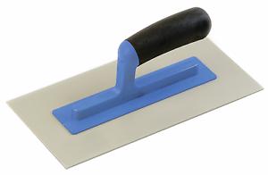 """231816 Refina 11/"""" Plastic Trowel 1-2mm Grain Light Grey"""
