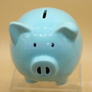 Ceramic Pig Piggy Children Bank Saving