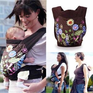 Ergonomische Babytrage Kindertrage Rückentrage Tragetasche Hüftsitz Bauchtrage