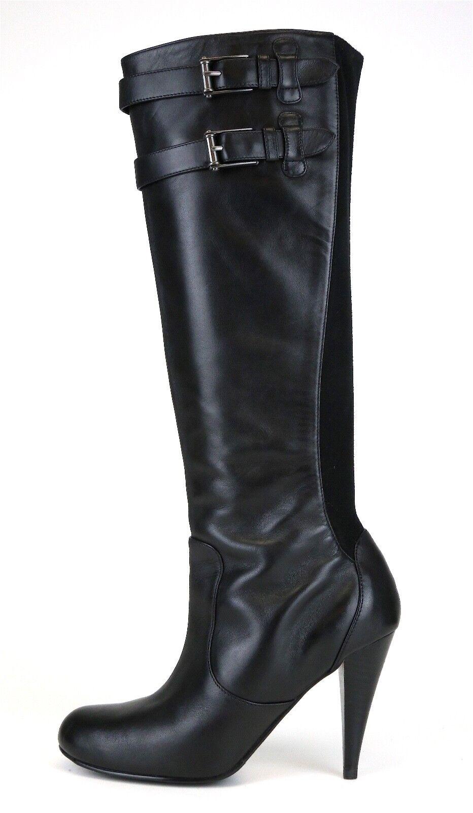 Cole Haan Aire Jalisa Alto botas De Cuero Negro para para para Mujeres Talla 6 B 5177   con 60% de descuento