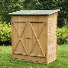 Casetta box da giardino in legno 162x140x75cm