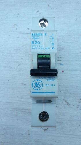 General électrique GE B6 6 A Series E MCB Disjoncteur